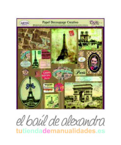 Papel de decoupage paris
