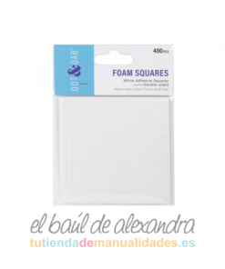Almohadillas foam 2mm