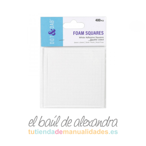 Almohadillas foam 3mm