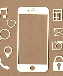 Chipboard Smartphone